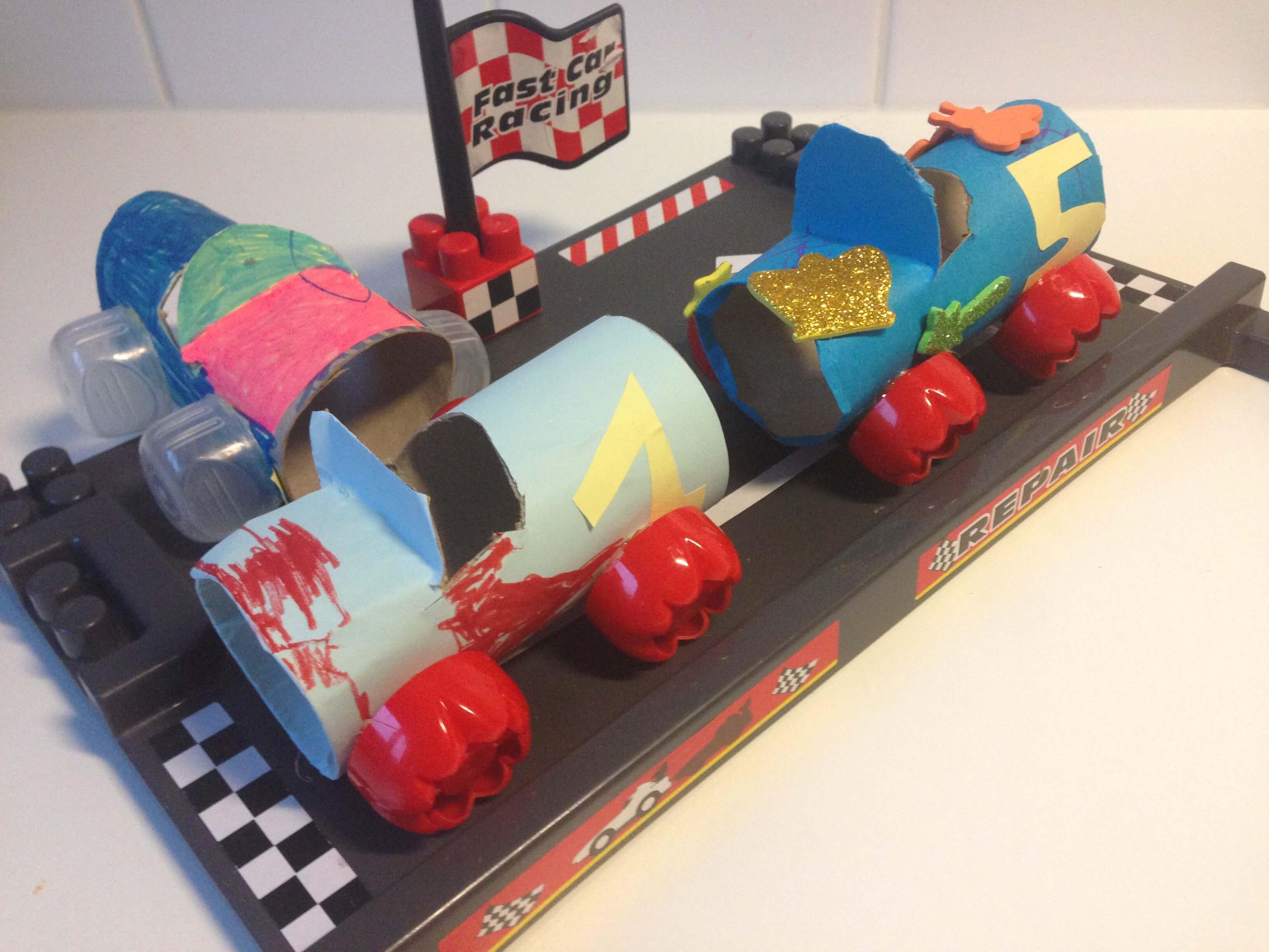 Race Auto Knutselen Met Wc Rol Pingetest Mama Blog