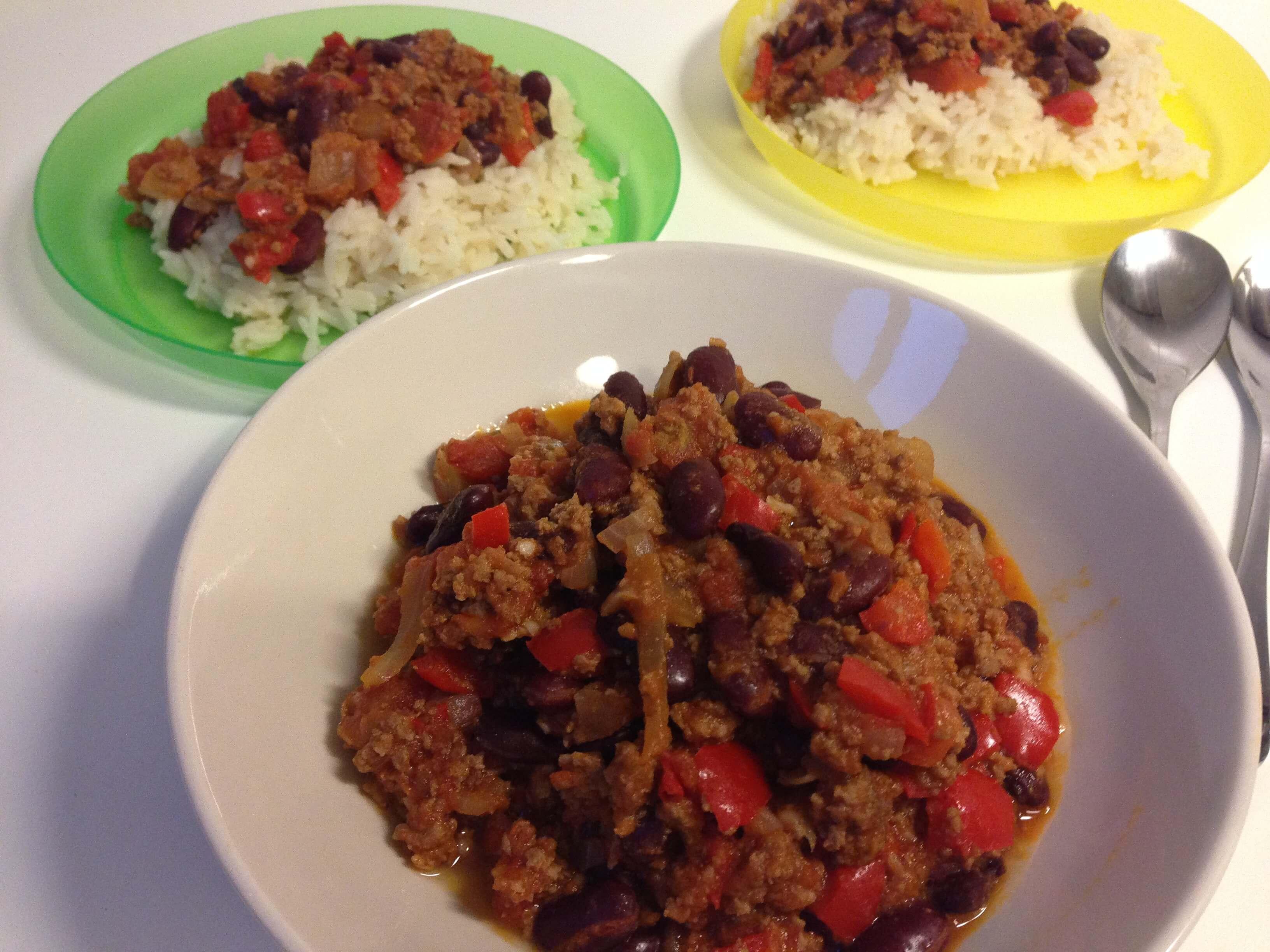 Chili con carne recept [Kindvriendelijk] | Gemakkelijk! | PinGetest